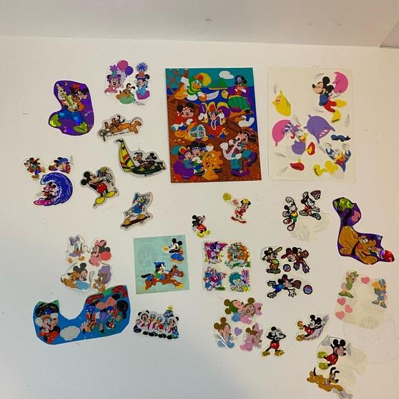 VTG Sandylion Mickey Mouse & Friends sticker lot